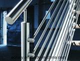 Inox 304/316 Handlauf-Stab-Befestigungen für Treppenhaus/Balkon/Portal