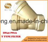 Y datilografa o filtro usado para a limpeza da água/gás/petróleo