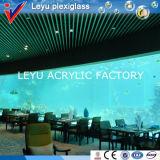 UV защищенный акриловый лист для напольных аквариумов или бассеина