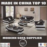 Neues Form-Wohnzimmer-Leder-Sofa des Entwurfs-2017