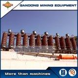 Separador da rampa espiral do equipamento do minério da gravidade da eficiência elevada