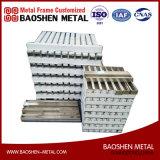 Aço inoxidável personalizado Exquisitely feito Mechinary de metal de folha para quadro a fabricação dos componentes