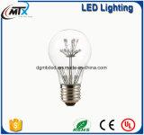 kupferne Zeichenkette beleuchtet SAA A19 2W E27 warme Glühlampe des Weiß-LED Edison