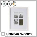 Het witte Klaargemaakte Houten Frame van de Foto voor het Decor van het Huis
