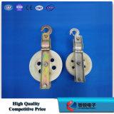 Einzelnes Kabel-Riemenscheiben-Block/Kabel-Riemenscheibe für Opgw optisches Kabel