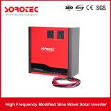 Sistema de inversor de energia solar de cor vermelha 1-2k