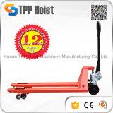 Camion de palette hydraulique lourd de la main 3t avec le prix usine