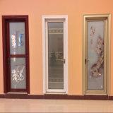 Portelli di apertura lustrati doppio di alluminio standard australiano usati casa interna della stoffa per tendine del blocco per grafici