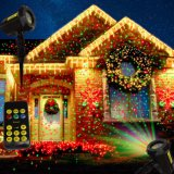 Elf luces / Jardín de luz láser / Navidad al aire libre de las luces laser para la decoración del árbol de cerezo
