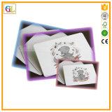 Карточка дешевого изготовленный на заказ картона бумажная