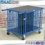 Nous cage en aluminium normale de crabot/cage de chat