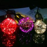 크리스마스 휴일 장식적인 요전같은 빛 LED 끈 구리 철사 전구
