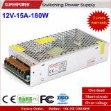 Drucker-Schaltungs-Stromversorgung Gleichstrom-12V 15A 180W 3D