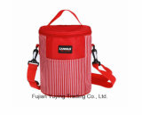 Roter Picknick-Beutel-Organisator-Kühlvorrichtung-Beutel mit kundenspezifischer Größe