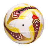 普通サイズ5の耐久のサッカーボールをトレインしている4チーム