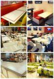 レストランの家具の長方形の固体表面のダイニングテーブル