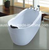 STAZIONE TERMALE indipendente della vasca da bagno di multi ellisse sveglio di formato 1200mm per la mini stanza da bagno (AT-0921)