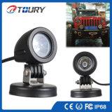 Lumières de lampe de travail de la lumière pilotante 10W DEL de DEL pour le camion de moto