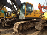 La maquinaria de construcción usada de Volvo utilizó a Volvo 460 excavadores seguidos para la venta