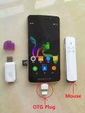 新しいデザイン! スマートな投射のタッチ画面の人間の特徴をもつ携帯電話