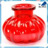 Doppeltes bespritzt der 10 Zoll-rote Glaskürbis-Huka mit einem Schlauch