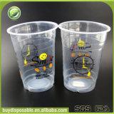 kundenspezifische biodegradierbare große freie hohe Plastikcup 35oz/1000ml mit Kappen