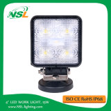 4 '' 15W LED Flood Beam Conducción Luz Offroad Jeep Truck Técnico Vehículo Boat Fog Lámpara SUV Car Accessories