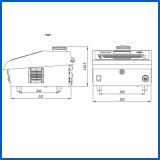 De automatische Industriële Printer van Inkjet van de Machine van de Druk van de Code van de Partij Ononderbroken