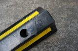 bujão de borracha amarelo preto da roda de 500*150*100mm