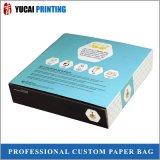 rectángulo de empaquetado blanco del rectángulo de papel de la cartulina 350g