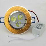 Innendeckenleuchte des Aluminium-LED für Punkt-Lampe 3W 5W