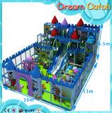 De commerciële Gebruikte Plastic BinnenSpeelplaats van de School met Dia's voor Kinderen die Spelen spelen