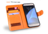 Caixa Shockproof para o caso Shockproof de couro de /Wallet do iPhone para Samsung S6