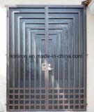 機密保護のまっすぐな平屋建家屋のカスタム鉄の前部出入口