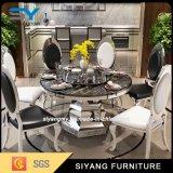 中国の家具のダイニングテーブル一定の大理石表のダイニングテーブル