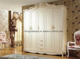 Het nieuwe Hoogste het Verkopen het Hangen Ontwerp van de Garderobe van de Slaapkamer van de Garderobe van het Metaal van de Organisator van de Kast Kabinet Gebruikte