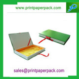 Kundenspezifischer Luxuxprägenpappsteifer verpackender Papierschmucksache-Kasten-Geschenk-Papierkasten