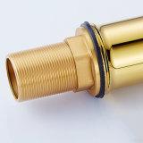 Faucet de bambu da embarcação do banheiro do projeto da pintura do ouro de Flg