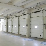 آليّة صناعيّة فولاذ أمن باب باب قطاعيّ زجاجيّة ([هف-73])