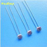 Résistance photoconductrice de résistance de photorésistance dépendant de la lumière de LDR 3mm (séries MJ35)