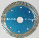 La circular del diamante de Superthin vio la lámina para la piedra seca del corte