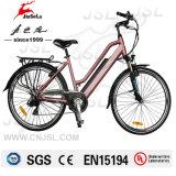 """Bicicleta eléctrica del marco de aluminio de 26 """"con el freno delantero / trasero de V (JSL038G-1)"""