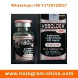 Escrituras de la etiqueta y rectángulos de encargo del frasco del holograma 10ml de la alta calidad para los esteroides