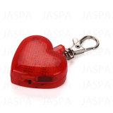 Konkurrenzfähiger Preis-Liebes-Form-Haustier Keychain Licht