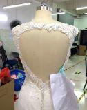 首のスパークのサイズのウェディングドレスと新しい到着