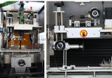 De automatische Koker van het Etiket van de Fles van de Wijn krimpt de Machine van de Etikettering