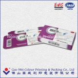 Rectángulo de papel plegable de empaquetado reciclado caliente de la impresión en offset de la venta 6c