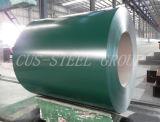 La hoja de acero galvanizada prepintada/prepintó la bobina de acero galvanizada
