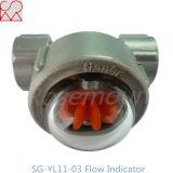 Van het Micro- van Tianhe de Indicator van de Stroom van de Olie Gezicht van het Roestvrij staal met Blad