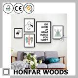 Blocco per grafici di legno della pittura del blocco per grafici della foto della decorazione moderna della parete